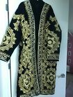 hand made by artist gold embroidery uzbek chapan