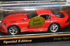 New Maisto Special Edition Red 1997 Dodge Viper GTS 118TH Scale Die cast