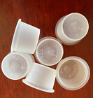 New Replacement 15 16 1 Salt  Pepper Shaker Stoppers Plugs 2 plastic Clear