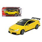 2003 Honda Accord Custom Tuner Yellow 1 18 Diecast Model Car by Motormax 73146y
