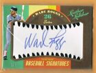 2019 Leather & Lumber Wade Boggs Autograph 1 5 Boston Red Sox