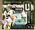 2018 Panini Unparalleled Hobby Box Lamar Jackson ? Baker Mayfield ? Rookie Autos
