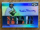 2011 Topps Triple Threads 3 EDDIE MURRAY Auto Patch 3-Color HOF Orioles