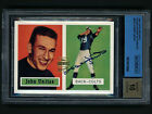 2001 Topps Archives Rookie Reprints Johnny Unitas Autograph BGS Auto10 Colts