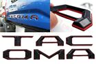 Double Layer Tailgate Insert Letters fits 2016 2021 Toyota Tacoma Black Red
