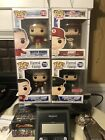 Funko Pop Lot Of 4 Tom Hanks Characters! Forrest Gump, Jimmy, And Mr. Rogers!