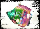 Genuine Christopher Radko RAINBOW FISH Pink Lovely Handcrafted Glass Ornament 2