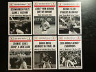 2016 1969 TBT Cubs World Series 6 Card Set Topps Throwback Thursday 684 RARE