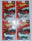 2004 HOT WHEELS HOLIDAY RODS 67 CAMARO BY LARRY WOOD SET OF 4 VARIATIONS VHTF