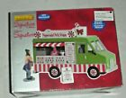 LEMAX Holiday House Village - PEPPERMINT FOOD TRUCK 3 Piece Tree/Table Accent