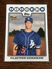 Clayton Kershaw Rookie Cards and Autograph Memorabilia Guide 31