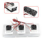 3 Chip Semiconductor Refrigeration Thermoelectric Cooler Diy Kit Cooler Device
