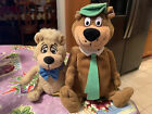 Hanna Barbera Yogi & Boo Boo Bear Beanie Stuff Plush Collectibles Very Rare Mint
