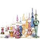 Egyptian Hand blown Perfume Bottles Wholesale Set Of 12 Sizes Varie 2 5