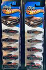 Hot Wheels 2013  221 Showroom Then and Now 70 Camaro Black Lot of 10
