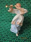 Hallmark 1985 Heavenly Trumpeter Angel Porcelain Limited Edition Ornament