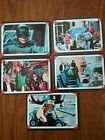 1966 Topps Gum Batman Riddler Back cards lot of 5 great condition Look Read