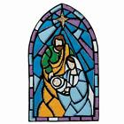 Bucilla Stained Glass Nativity Wall Hanging Felt  Sequin Kit