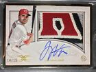 2017 Topps Definitive Collection Gold Framed Autograph Patch 15 Joey Votto Auto