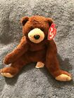 TY Beanie Baby Bixby The Bear With Tag Retired DOB: September 30th, 2004 MWMT's