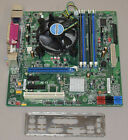 Intel DQ67OW Motherboard CPU Combo i3 2120 33Ghz Dual Core 8GB DDR3 IO Shield