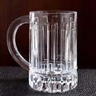 Tiffany  Co Crystal Atlas Collection Beer Glass Mug 16oz 5 1 8