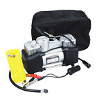 12V High power Car Portable Parallel Bar Air Pump Professional Air Tyre Pump US