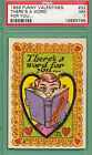 1959 Topps Funny Valentines Trading Cards 34