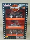 MAISTO Harley Davidson 118 Die Cast Models Fire Fighter Special Edition 7 pc