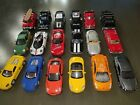 LOT 18 KINSMART ONLY Diecast CARS Porsche POLICE Chevy 136 138 Pagani HUMMER