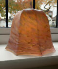 Retro Vintage ART DECO MARBLED GLASS CEILING TABLE LAMP SHADE