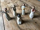 Willow Tree Angels Set of 5 Health Happiness Giving Hearth Prayer