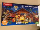 Nativity Advent Calendar Fisher Price Little People Play Set  25 Play Pieces