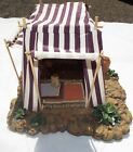 FONTANINI Nativity Village 50251 Kings Purple Tent for 5 Villages with Box