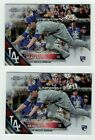 COREY SEAGER (2) CARD LOT 2016 TOPPS CHROME Update Holiday Box RC Rookie Bubbles