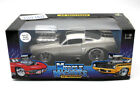 1966 Ford Mustang 118 RARE Grey w Black Stripes Diecast by Muscle Machines
