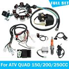 Full Electrics Wiring Harness Wire Loom For ATV QUAD CG125 200 250CC Stator CDI