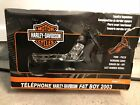 2003 Harley Davidson Fat Boy Telephone Kng America Real Red  Diamond Ice