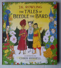 The Tales of Beedle the Bard 1st 1st Hbk SIGNED by Illustrator Chris Riddell