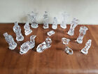 Waterford Crystal Nativity Set 15 pc Camel Donkey Sheep Wise Men Shepherds Angel