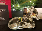 Waterford Crystal The Nativity Collection Donkey Mint Condition Boxed