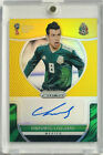 2018 Panini Prizm World Cup HIRVING LOZANO Mexico GOLD AUTO rookie autograph 10