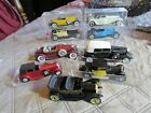 RIO DIECAST TOY CARS MIB BUGATTI  ROLLS ROYCE AND 5 OTHERS