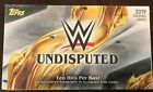 2019 Topps WWE Undisputed Wrestling Hobby Box - Factory Sealed - 10 Hits Per Box