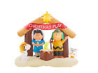 6 ft Inflatable Peanuts Nativity Scene Durable Christmas Decoration