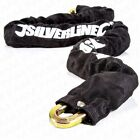 HEAVY DUTY 600mm SLEEVED HIGH SECURITY MOTORBIKE CHAIN Moped Security Lock UK