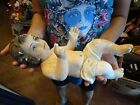 Antique Rare Baby Jesus Figurine Nativity 14 Long Vintage