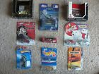 Lot of 9 Hot WheelsmatchboxNASCAR Coca Cola cars still in packaging 354B