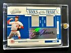 2005 PLAYOFF ABSOLUTE TOM SEAVER AUTO JERSEY #D 10!! DUAL AUTOGRAPH RELIC REDS