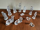 Waterford Crystal Nativity Set 12 pc Camel Donkey Sheep Wise Men Shepherds